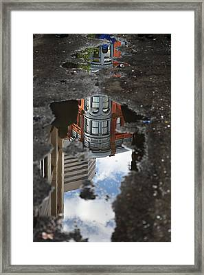 Always Look Down Framed Print