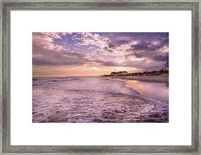 Always Remember The Sunset Framed Print by Betsy Knapp