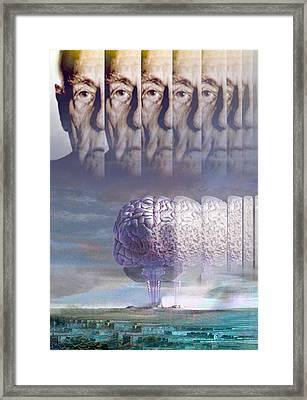 Alzheimer's Disease Framed Print by Hans-ulrich Osterwalder
