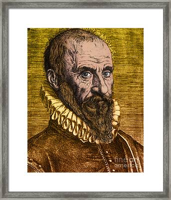 Ambroise Par�, French Surgeon Framed Print