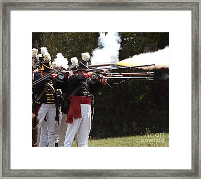 American Firing Line Framed Print by JT Lewis