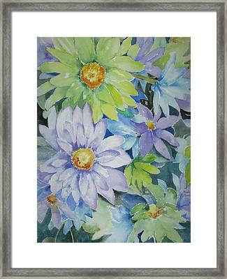 Amy's Bouquet Framed Print