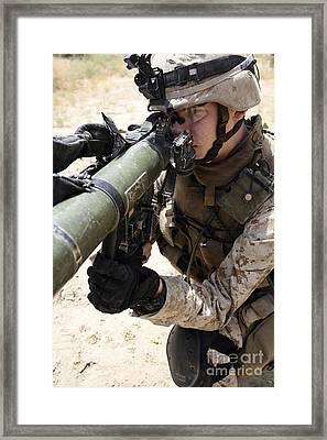 An Assaultman Handles Framed Print by Stocktrek Images