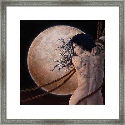 Andromeda Framed Print by Jose Luis Munoz Luque