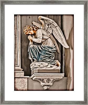 Albuquerque, New Mexico - Angel Framed Print