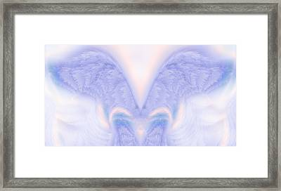 Angel Wings Framed Print by Christopher Gaston