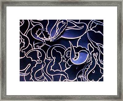 Angels In Paradise Framed Print by Lee Thompson