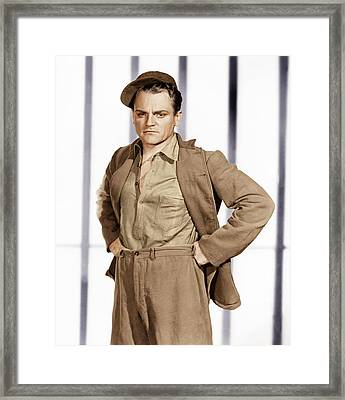 Angels With Dirty Faces,  James Cagney Framed Print