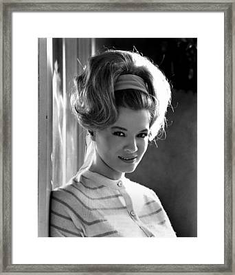 Angie Dickinson, Ca. 1966 Framed Print by Everett