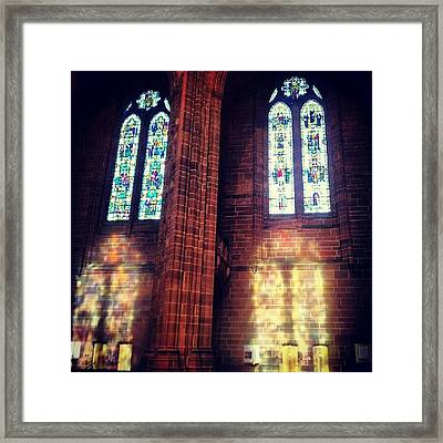 #anglican #cathedral #cathedrals Framed Print