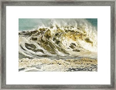 Angry Sea 3 Framed Print