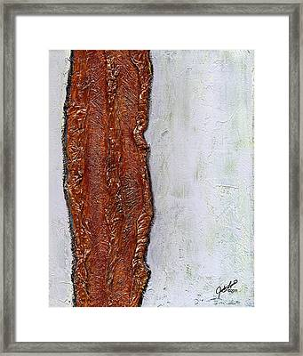 Angst Framed Print by The Art Of JudiLynn