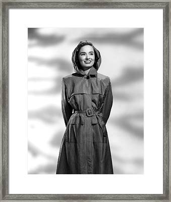 Ann Blyth, 1946 Framed Print by Everett