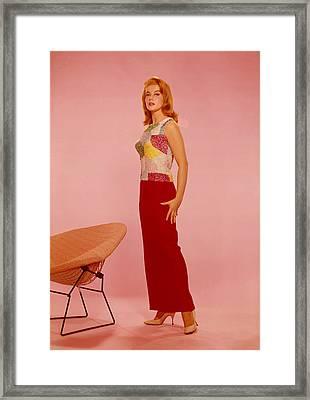 Ann-margret, 1960s Framed Print by Everett