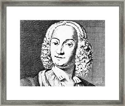 Antonio Vivaldi (c1675-1741) Framed Print by Granger