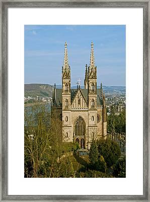 Apollinaris Church In Remagen Framed Print