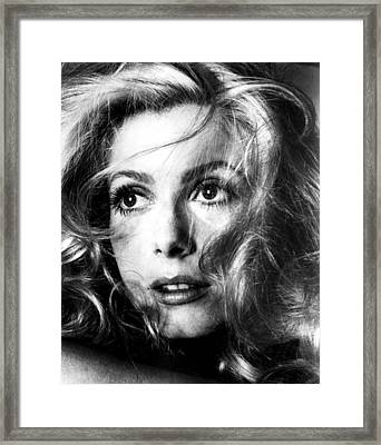 April Fools, Catherine Deneuve, 1969 Framed Print by Everett