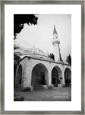 arabahmet mosque in nicosia TRNC turkish republic of northern cyprus Framed Print by Joe Fox
