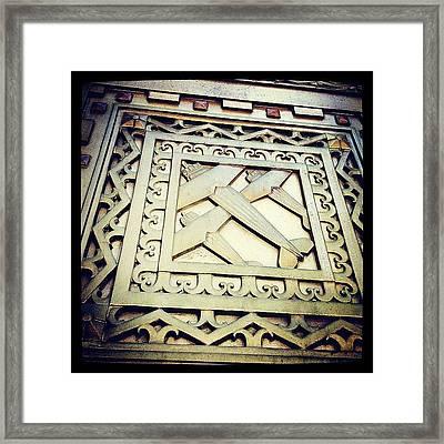 Art Deco Design Framed Print