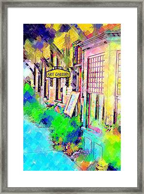 Art Gallery Framed Print by Paul Bartoszek