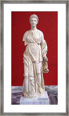 Artemis Framed Print by Andonis Katanos