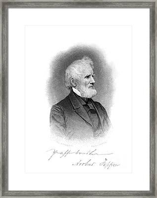 Arthur Tappan (1786-1865) Framed Print by Granger