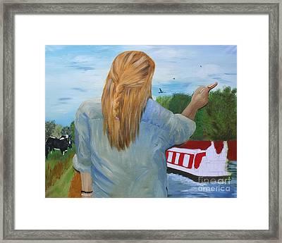 Artist At Work Framed Print
