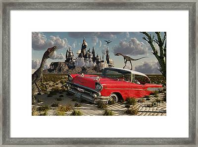 Artists Concept Illustrating Framed Print by Mark Stevenson