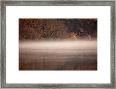 As The Fog Lifts Framed Print by Karol Livote