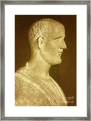 Asclepiades Of Bithynia, Ancient Greek Framed Print by Science Source