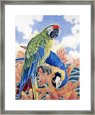 Astarte's Paradise II Framed Print