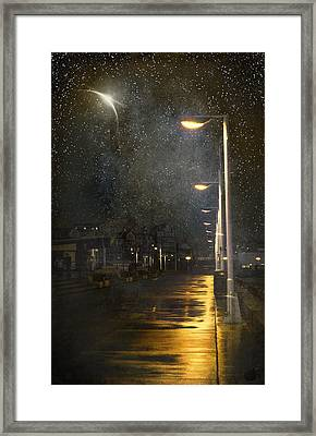 at Night Framed Print by Svetlana Sewell