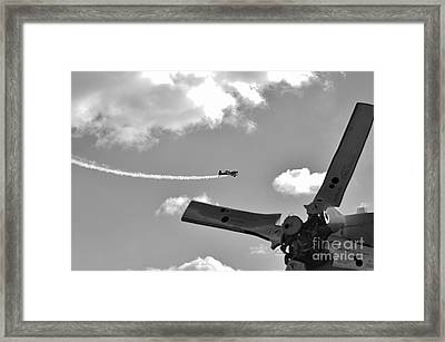 At The Airshow Framed Print by Don Youngclaus
