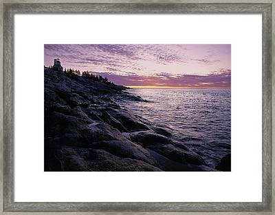 Atlantic Dawn Framed Print