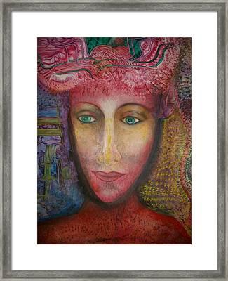Atlantis Bride Framed Print by ED Setien