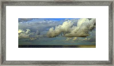 Atmospheric Lighting Framed Print by Fraida Gutovich