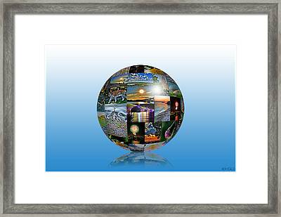 Attractions In Buffalo Ny And Surrounding Areas Framed Print by Michael Frank Jr