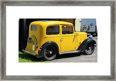 Austin Healey Seven 1937 Framed Print by Rene Triay Photography
