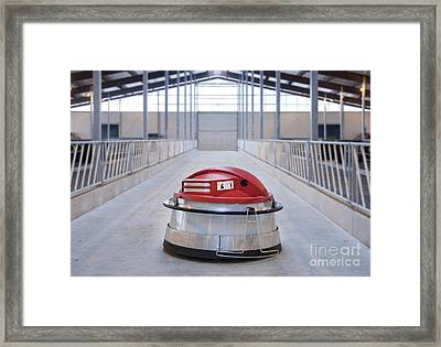 Automated Feed Pusher Framed Print