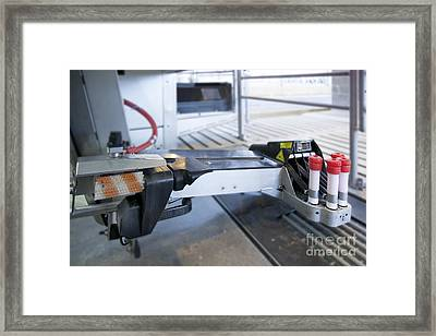 Automated Milking Machine Framed Print by Jaak Nilson