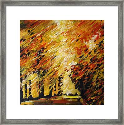 Autumn Framed Print by Alexander Antonyuk