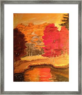 Autumn Framed Print by Brindha Naveen