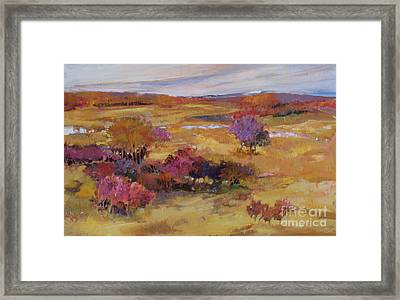 Autumn Land Framed Print