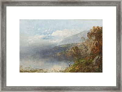 Autumn On The Androscoggin Framed Print by William Sonntag