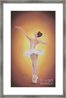 Autumn's Grace Framed Print by Christian Garcia