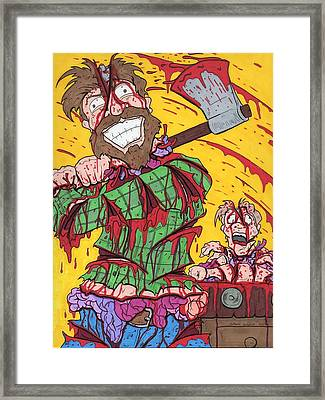 Axe Me Another Framed Print by Anthony Snyder