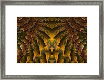 Aztec Framed Print by Christopher Gaston