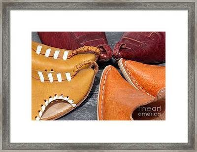 Babouches Framed Print by Sophie Vigneault