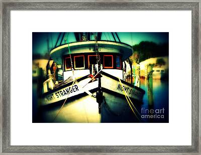 Back In The Harbor Framed Print by Susanne Van Hulst