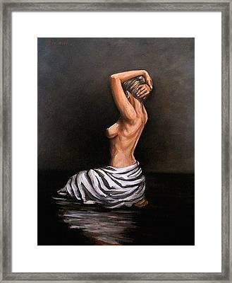 Back Nude Framed Print
